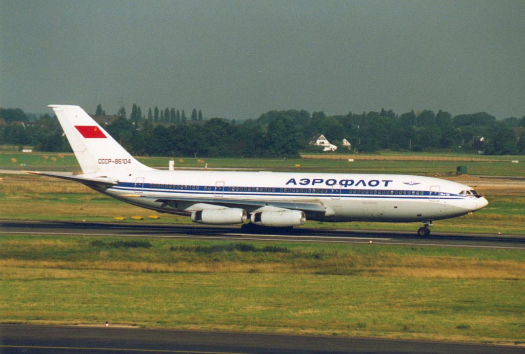 Compagnies d'aviation Su-il-86a