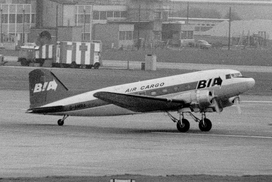 DOUGLAS DC3 Bia-dc-3